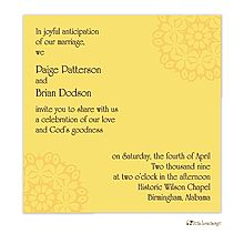 After the wedding party invitations or elopement party invitations after the wedding party invitations or elopement party invitations yellow floral stopboris Gallery