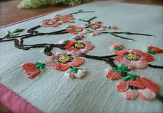 Hey, I found this really awesome Etsy listing at https://www.etsy.com/uk/listing/451077182/hand-embroidered-blossom-vintage-linen
