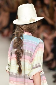 A #boho braid inspired by NYFW.
