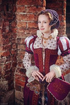 Ciderella from the 16th Century #Renaissance #Fashion #Dress by adelhaid.deviantart.com