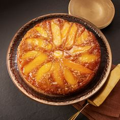 Mangoes give a new take on the traditional pineapple upside-down cake.
