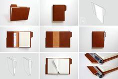 Kimeba Design Studio - File Folder notebook