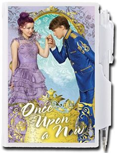 Descendants Pocket Locking Notepad and Pen - Featuring Mal and Ben
