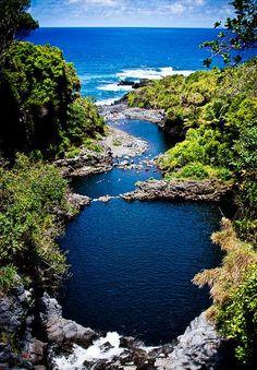 Seven Sacred Pools, Maui, Hawaii. !