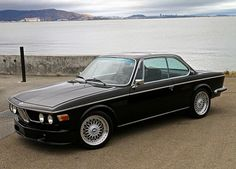1973 BMW 3.0 CSI Coupe | BMW | classic cars | BMW classics | black cars | car photos | BMW photos