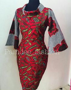 Cannot go wrong in a super garment made by God for his favourite angel.You cannot go wrong at all, not one bit. African Dresses For Women, African Print Dresses, African Attire, African Wear, African Fashion Ankara, African Print Fashion, Africa Fashion, Ankara Stil, Mode Kimono