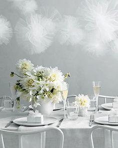 Branco por todos os lados na festa de ano novo