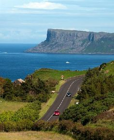 Northern Ireland  County Antrim Causeway Coastal Route