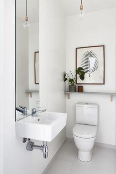 Crisp white. #interior
