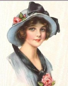 Vintage Freebies - Lovely Lady Images