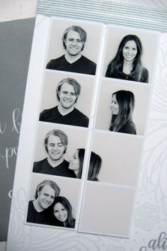 Perpetually Engaged: photo booth save the date