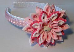 Conjunto de diadema y 2 colas de caballo por FlowersForHairs