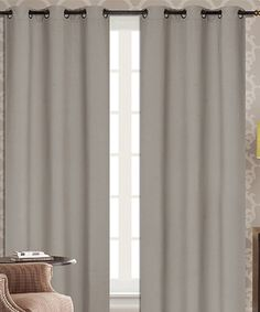 Another great find on #zulily! Taupe Dover Blackout Curtain Panel - Set of Two #zulilyfinds