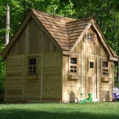 Outdoor Living Today Laurens Cottage with 4 Functional Windows and Dutch Door | Wayfair