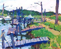 Charles Sovek, Acrylic Paintings