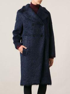 Marni Double Breasted Coat - Andreas Murkudis - Farfetch.com