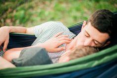 hammock engagement photo