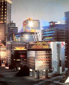 "James Evanson  ""Lighthouse Collection""  Art et Industrie  1985"