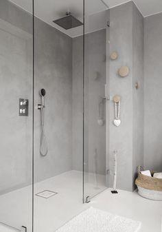 Trendy Master Bathroom Remodel With Laundry 65 Ideas All White Bathroom, Laundry In Bathroom, Modern Bathroom, Master Bathroom, Bad Inspiration, Bathroom Inspiration, Contemporary Baths, Tadelakt, Shower Remodel