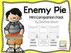 Enemy Pie by Derek Munson is a great book to read aloud or listen