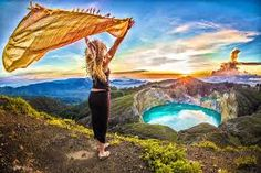 She believes that it is very important to take chances, that there is a vast and immense world out there with lush gardens and awe inspiring landscape just waiting to be experienced and explored.