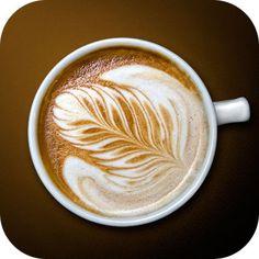 Delicious latte art at Joe's NYC