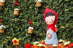 Mesa Festa da Chapeuzinho Vermelho