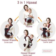 Hip Seat POGNAE available at www.hotmoms-coolkids.com