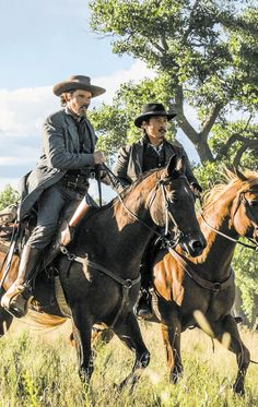 """''What happens in a meadow at dusk"""" Hollywood Style, Hollywood Fashion, Magnificent Seven 2016, Actor Chris Pratt, Lee Byung Hun, Ethan Hawke, Charles Bronson, Cowboy Baby, Cowboys And Indians"""
