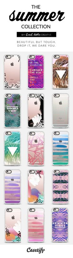 summer inspired cell phone cases
