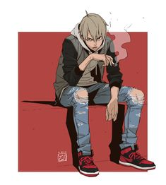 ArtStation - Let's quit smoking., YUNGUN Y