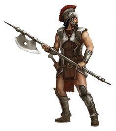 Der Hylailer Krieger - ein neuer Charakter für die Horasier