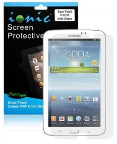 COD(TM) Screen Protector Film Matte Clear for Samsung Galaxy Tab 3 7.0 (3-Pack)