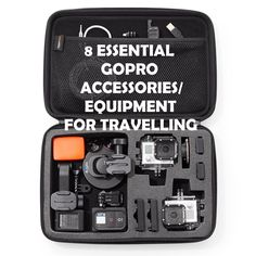 At a loss of what to pack in your GoPro Travel Kit? Here are 8 Essential GoPro Equipment for travelling that you can never ever go wrong with.