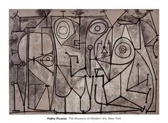 The Kitchen Pablo Picasso (Spanish, Paris, November Oil on canvas, x 2 x 250 cm). Acquired through the Nelson A. © 2012 Estate of Pablo Picasso / Artists Rights Society (ARS), New York Pablo Picasso, Kunst Picasso, Art Picasso, Picasso Paintings, Picasso Prints, Picasso Images, Picasso Sketches, Picasso Drawing, Henri Rousseau