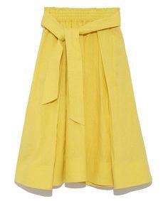 リネンフレアスカート(スカート)|Mila Owen(ミラ オーウェン)のファッション通販 - ZOZOTOWN