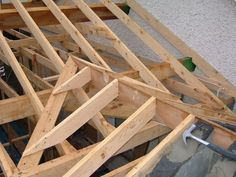 Roof Construction on Pinterest | Shed Dormer, Timber Frames and ...