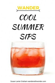 I crave the bright flavors of fruity drinks in summer. Whether I opt for a non-alcoholic version or add in something to kick it up a notch, this is definitely the season for something cool to sip by the pool. Here are a few of my favorite summer cocktail recipes.