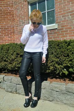 #casual #leather #everyday #outfit   Visit my style blog, it's updated daily:  http://thosethreads.com  http://thosethreads.com http://thosethreads.com http://thosethreads.com  xoxo --Alexis