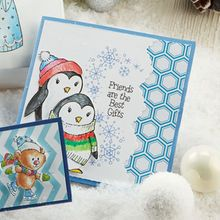 Cool Penguin Christmas Card