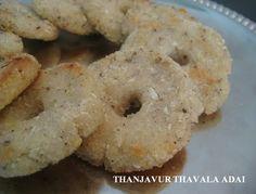 Thanjavuir Thavalai Adai (Via Amuthis Kitchen)