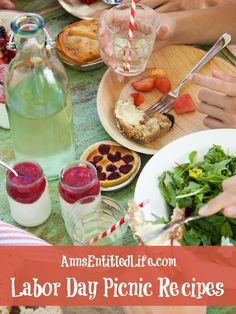Labor Day Picnic Recipes! It's the unofficial end of summer, and whether you're throwing a party in your backyard or taking a dish to pass at a picnic or potluck, you are sure to find the perfect Labor Day Picnic Recipe from the list below: http://www.annsentitledlife.com/recipes/labor-day-picnic-recipes/