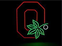 Ohio State Buckeyes NCAA Sports Neon Sign Real Neon Light