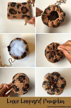 Crochet Fall Decor, Crochet Decoration, Crochet Home, Crochet Gifts, Autumn Crochet, Crochet Pumpkin Pattern, Halloween Crochet Patterns, Pumpkin Patterns, Quick Crochet