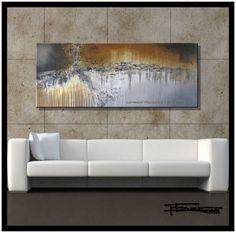 Moderno abstracto pintura de la lona arte de por ELOISEWORLDSTUDIO
