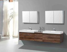 New Post floating bathroom sinks