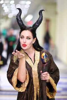 Maleficent 2014 Phoenix Comicon (PCC) by gbrummett, via Flickr