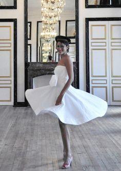 Robe de mariee Berengere Cardera sur mesure Paris l Modele Rue de Capri l La Fiancee du Panda blog mariage--2