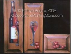 VIneyard Trio Pattern - Kathye Begala CDA - PDF DOWNLOAD