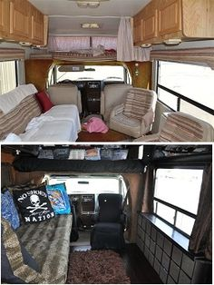 Class A Rv Our 1984 24 C Some Before After Shots Doesnt